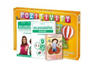 Pozitivity, a pozitív gondolkodás társasjátéka, serdülő plusz csomag (10-14 év)