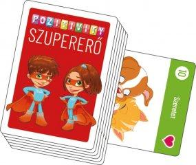 Pozitivity Szupererő kártyajáték, önbizalom fejlesztő játék (3-9 év)