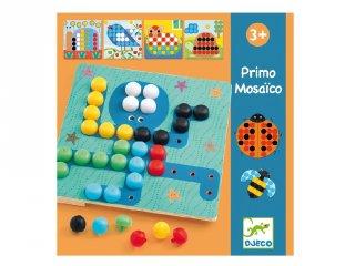 Primo Mosaico, Djeco pötyi képkészítő kreatív játék - 8140 (3-6 év)