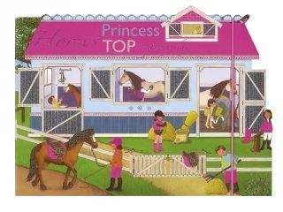 Princess TOP Horses: a funny day Pink, újraragasztható matricás foglalkoztató füzet (NAP, 3-10 év)