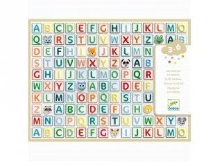 Pufi matrica készlet Betűk, Djeco kreatív játék - 9078 (3-6 év)