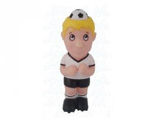 Puha hablabdás célbalövő játék, focista (3-12 év)