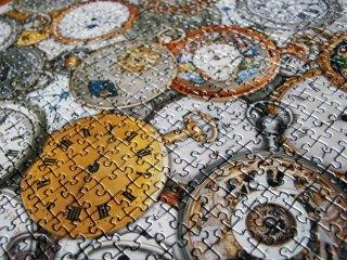 Puzzle 1000 db-os, Időmérő szerkezetek (Piatnik, 1000 db-os puzzle, 12-99 év)