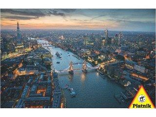 Puzzle 1000 db-os, London fényei (Piatnik, 1000 db-os puzzle, 12-99 év)