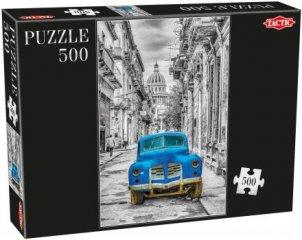 Puzzle 500 db-os, Kocsi (Tactic, 53561, 6-99 év)