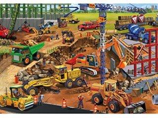 Puzzle: Építkezés (TS Shure, 1149/9, Puzzle: Under construction, 24 db-os puzzle, 3-12 év)