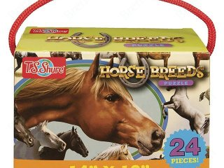 Puzzle: Lovak (TS Shure, Puzzle: Horse breeds, 24 db-os, 3-5 év)