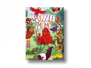 Puzzle Memo, díjnyertes memória társasjáték (5-12 év)