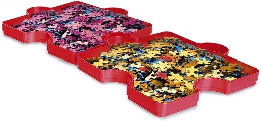 Puzzle szortírozó tálca, 6 db-os készlet (CLEM, 6-99 év)