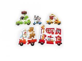 Puzzlika Autók, 20 db-os XXL puzzle (2-5 év)
