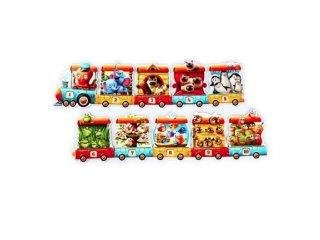 Puzzlika Vonat, 20 db-os XXL puzzle (2-5 év)