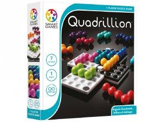 Quadrilion (Smart Games, tetrisz jellegű logikai játék, 7-99 év)