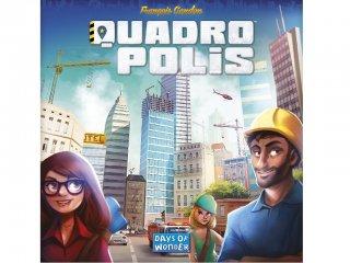 Quadropolis (városépítős családi stratégiai társasjáték magyar nyelven, 8-99 év)