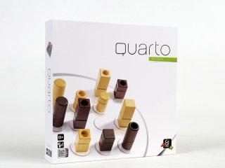 Quarto classic, amőba, ötödölő (Gigamic, minőségi fa, kétszemélyes stratégiai társasjáték, 8-99 év)