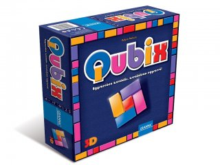 Qubix (Granna, logikai kockaépítő társasjáték, 7-99 év)