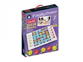 Quercetti Family Game Pontok és dobozok, stratégiai játék (7-99 év)