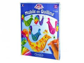 Quilling papírdísz készítő, Madarak (Sentosphere, kreatív készlet, 8-12 év)