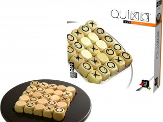 Quixo mini, 5x5-ös amőba (Gigamic, kétszemélyes stratégiai társasjáték, 8-99 év)