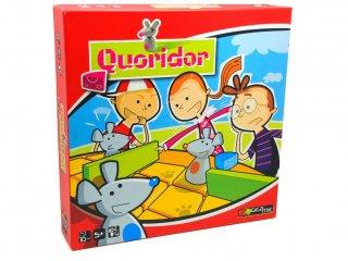 Quoridor kid (Gigamic, egeres, kétszemélyes stratégiai társasjáték, 5-14 év)
