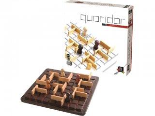 Quoridor Mini (Gigamic, kétszemélyes stratégiai társasjáték, 6-99 év)
