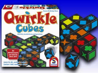 Qwirkle Cubes (Schmidt Spiele, logikai kockajáték, 6-99 év)