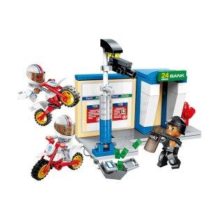 Rablótámadások, 4 az 1-ben Lego kompatibilis építőjáték készlet (QMAN, 1926, 6-12 év)