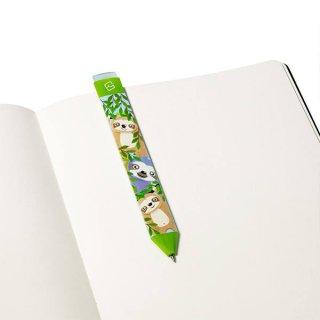 Radírozható könyvjelző toll, Lajhár