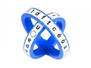 Radosza gyűrű, Kisbetűs változat (Radosza, logikai játék, 6-12 év)
