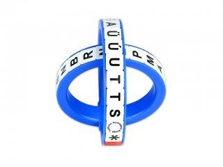 Radosza gyűrű, Nagybetűs változat (Radosza, logikai játék, 6-12 év)