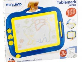 Rajzolós tábla (miniland, Tablemark Jumbo, 3-7 év)