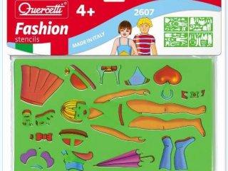 Rajzsablonok, divat, öltözködés (stencil fashion, 4 db-os kreatív készlet, 3-10 év)
