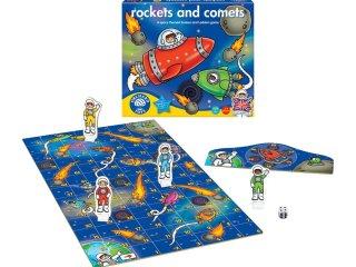 Rakéták és üstökösök (Orchard, rocket and comets, társasjáték gyerekeknek, 3-7 év)