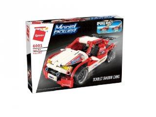 Rally autó a technika szerelmeseinek, Lego kompatibilis építőjáték készlet (QMAN, 6001, 6-12 év)