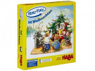 Ratz-Fatz (Haba, karácsonyos, mesélős társasjáték, 3-8 év)