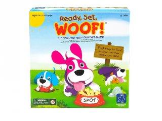 Ready, set, woof - Kutya egy játék (LR, a gyors, alapos megfigyelés játéka, 3-7 év)