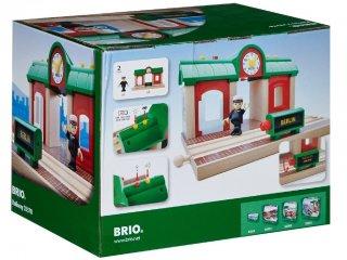 Record & Play állomás (Brio, 33578, vonatos fajáték, 3-10 év)