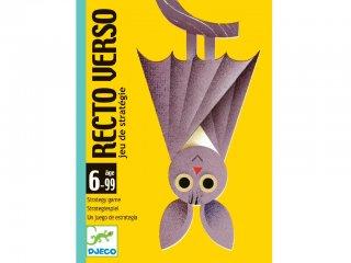 Recto Verso (Djeco, 5135, kétoldalas taktikai kártyajáték, 6-99 év)