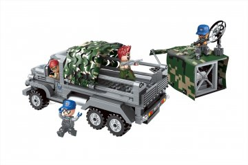 Rejtekből támadó csapat, Lego kompatibilis építőjáték készlet (QMAN, 1727, 6-12 év)