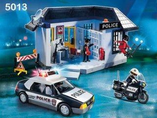 Rendőrség börtönnel, Playmobil szerepjáték (5013, 4-10 év)