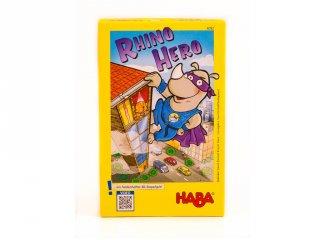 Rhino Hero (Haba, kártyavár építő ügyességi társasjáték, 5-8 év)