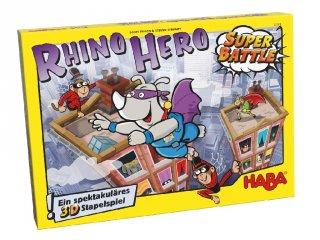 Rhino Hero, szuperhősök csatája (Haba, ügyességi társasjáték, 5-8 év)