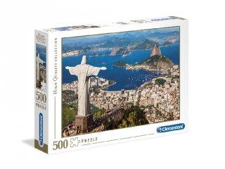 Rio De Janeiro puzzle, 500 db-os kirakó (CLEM, 8-99 év)
