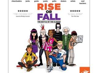 Rise or fall? Emelkedsz vagy leesel? (amerikai tini filmes, taktikai társasjáték, 7-99 év)