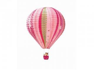 Rizspapír lámpabúra, Liz tündér hőlégballonja (lilliputiens, 86592, gyerekszobai kiegészítő)