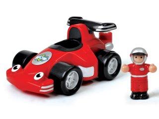 Robbie, a versenyautó és Jenson (Wow Toys, játékautó, 1-5 év)