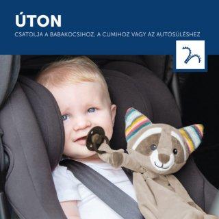 Robin mosómedve szundikendő sírásérzékelő modullal, babajáték (ZA)