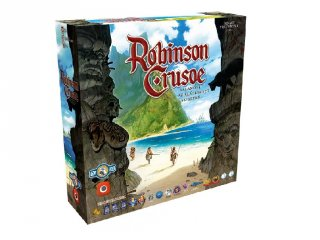 Robinson Crusoe: Kalandok az elátkozott szigeten (stratégiai, kooperációs társasjáték, 14-99 év)