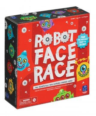 Robot arcok (LR, gyorsaság-megfigyelés játék, 4-12 év)