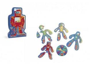 Robotépítő társasjáték óvodásoknak (Scratch, 3-6 év)