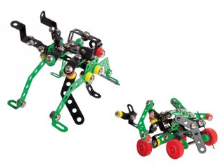 Robotok 4 az 1-ben fém építőjáték, 151 db-os tudományos építőkészlet (8-14 év)